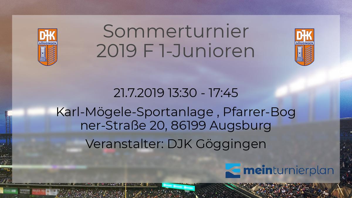 60% günstig Großhandel fairer Preis Sommerturnier 2019 F 1-Junioren – MeinTurnierplan.de